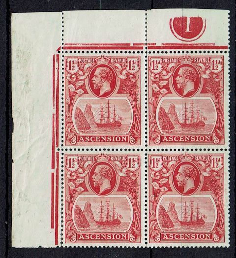 British Commonwealth Stamp Ascension%20SG%2012%2D12a%20UMM%2Ejpg