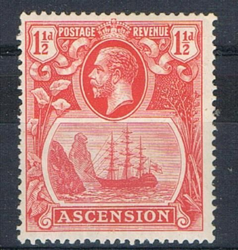 British Commonwealth Stamp Ascension%20SG12c%20LMM%2Ejpg