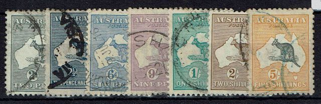 British Commonwealth Stamp Aust%20SG%2024%2D30%20GFU%2Ejpg