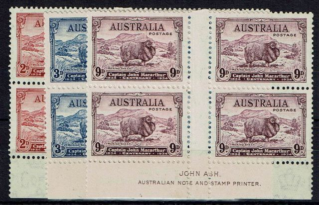 British Commonwealth Stamp Australia%20SG%20150%2D2%20LMM%2Ejpg