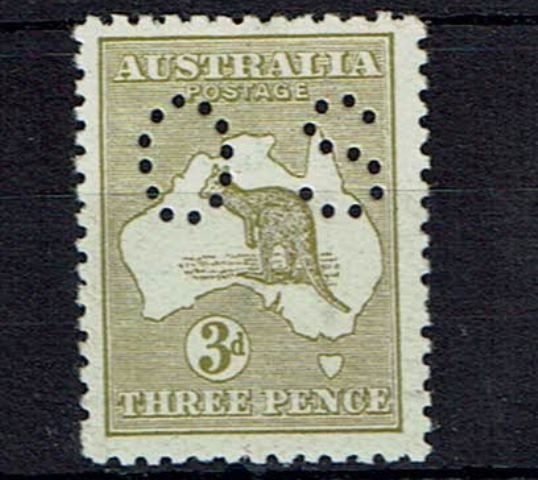 British Commonwealth Stamp Australia SG o20e LMM18092017