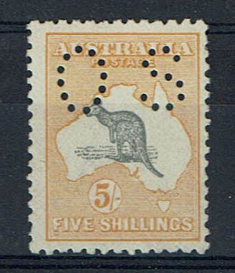 British Commonwealth Stamp Australia SG o50 VLMM18092017