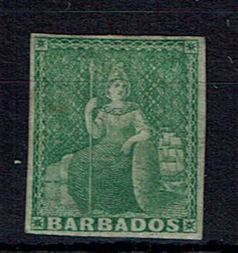 British Commonwealth Stamp Barbados%20SG%207%20MM%2Ejpg