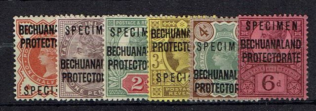 British Commonwealth Stamp Bech%20Prot%20SG%2059s%2D65s%20MM%2Ejpg