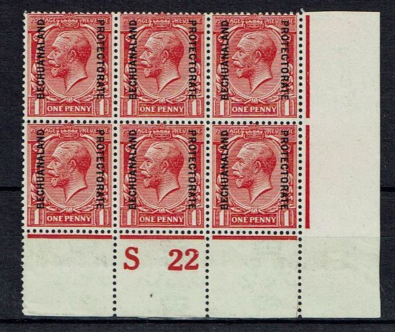 British Commonwealth Stamp Bech Prot SG 74a UMM