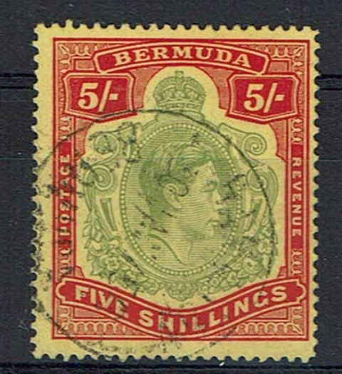 British Commonwealth Stamp Bermuda SG 118be FU