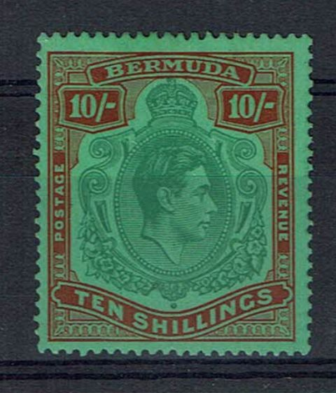 British Commonwealth Stamp Bermuda SG 119 LMM