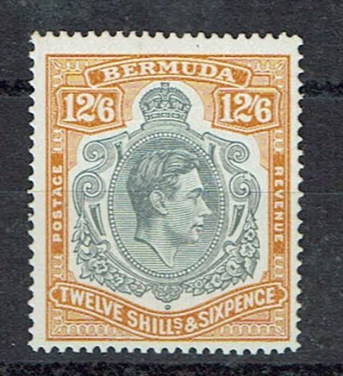 British Commonwealth Stamp Bermuda SG 120ce LMM