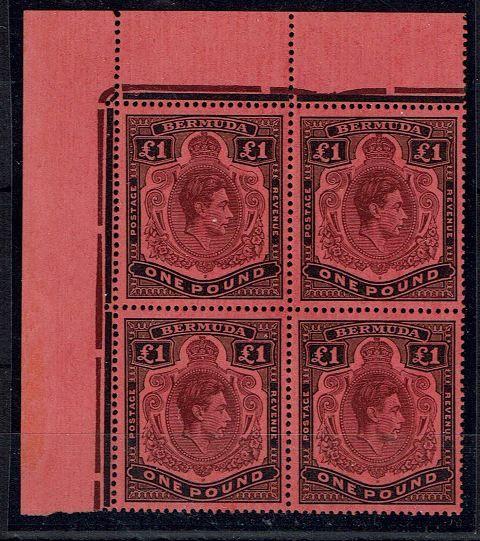 British Commonwealth Stamp Bermuda SG 121-121cb UMM