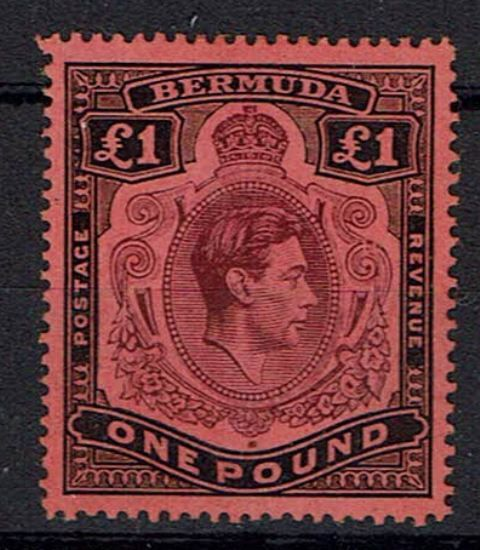 British Commonwealth Stamp Bermuda SG 121be LMM