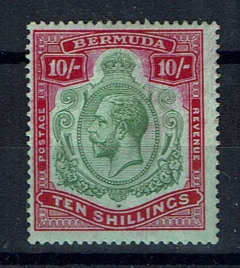 British Commonwealth Stamp Bermuda SG 54ca MM