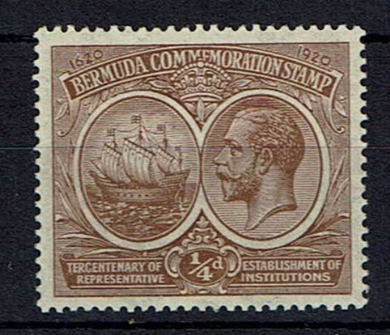 British Commonwealth Stamp Bermuda SG 59x UMM