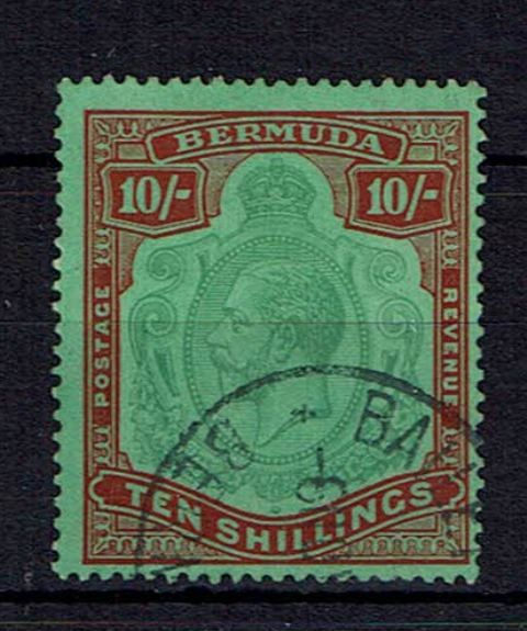 British Commonwealth Stamp Bermuda SG 92gb FU