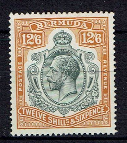 British Commonwealth Stamp Bermuda SG 93f VLMM