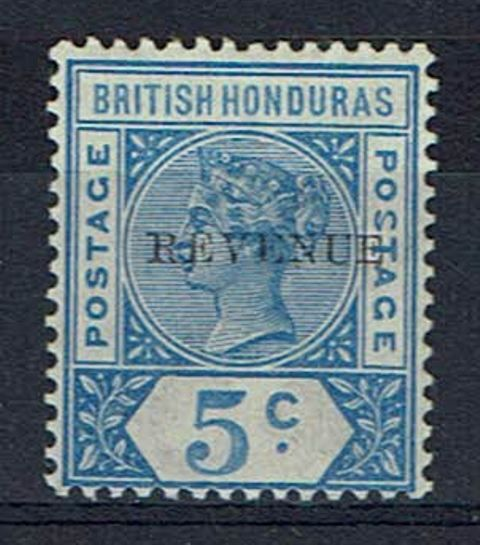 British Commonwealth Stamp Brit Hond SG 66b VLMM
