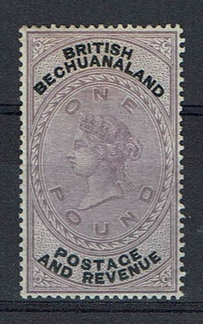 British Commonwealth Stamp British Bech SG 20 LMM