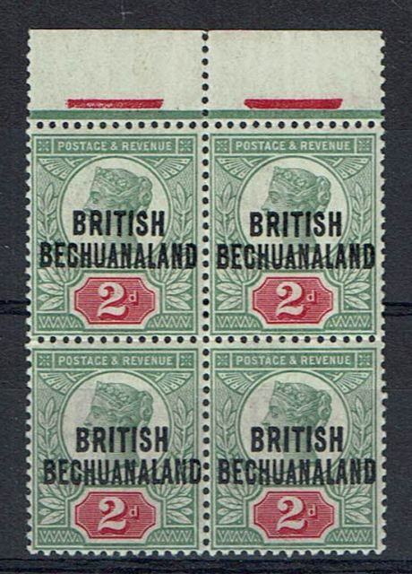 British Commonwealth Stamp British%20Bech%20SG%2034%20block%20of%204%2Ejpg