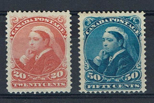 British Commonwealth Stamp Canada%20SG%20115%2D6%20LMM%2Ejpg