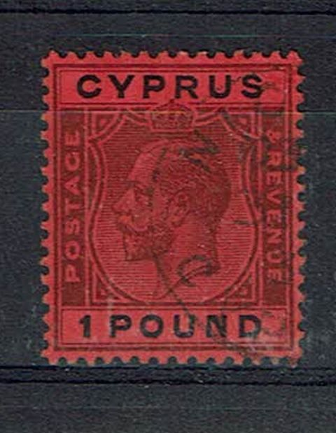British Commonwealth Stamp Cyprus SG 102 FU