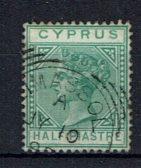 British Commonwealth Stamp Cyprus SG 16 FU