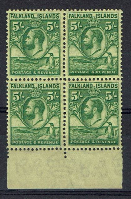 British Commonwealth Stamp Falk SG 124 LMM