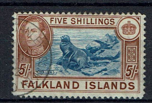 British Commonwealth Stamp Falklands SG 161d FU