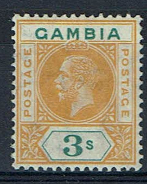British Commonwealth Stamp Gambia SG 101a LMM