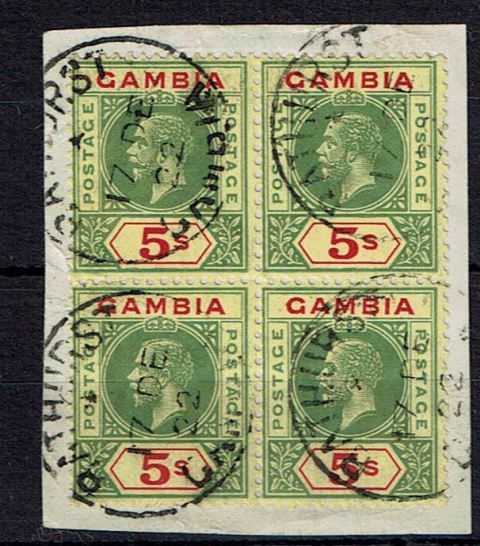 British Commonwealth Stamp Gambia SG 102 FU1