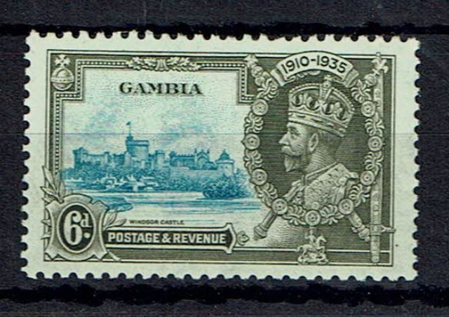 Gambia SG 145a
