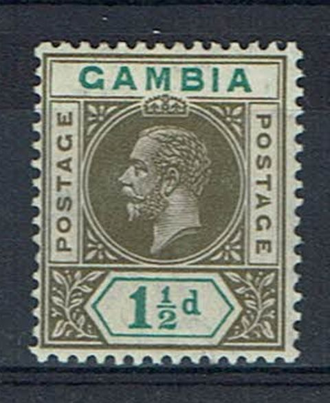 British Commonwealth Stamp Gambia%20SG%2088a%20MM%2Ejpg