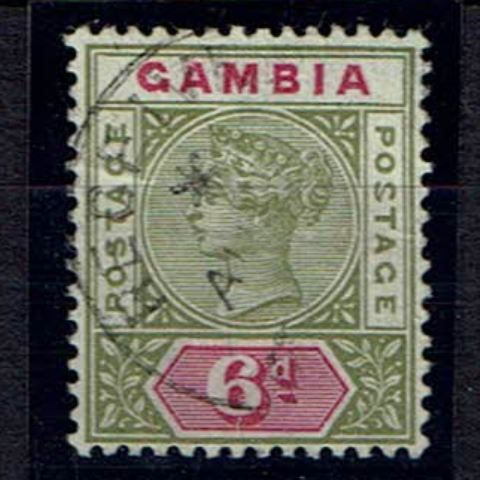 British Commonwealth Stamp Gambia%20SG43a%20FU%2Ejpg