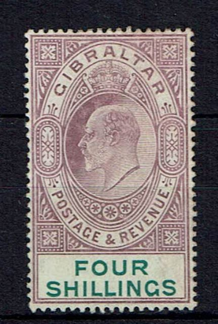 British Commonwealth Stamp Gib SG 63 MM