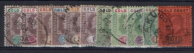 British Commonwealth Stamp Gold%20Coast%20SG%2038%2D48%20FU%2Ejpg