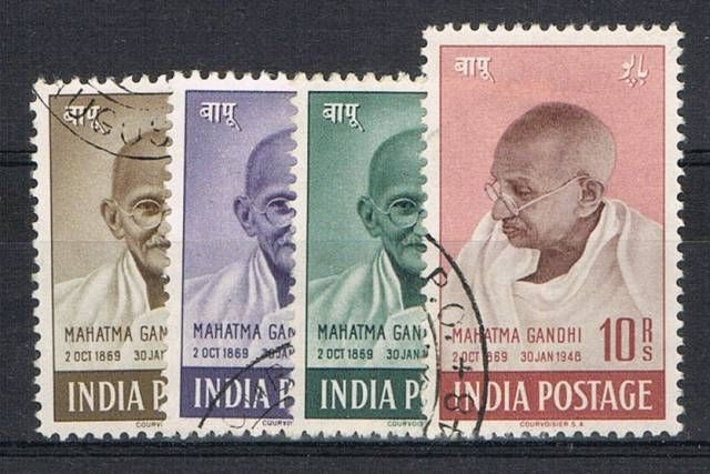 British Commonwealth Stamp India%20SG%20305%2D8%20FU%2Ejpg