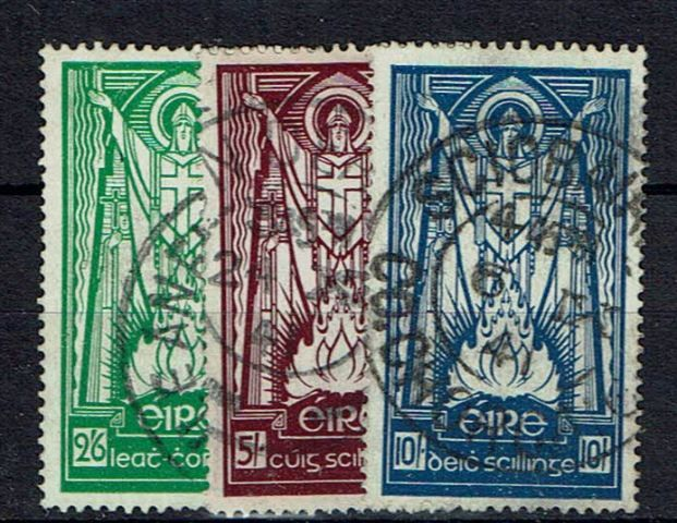 British Commonwealth Stamp Ireland%20SG%20102%2D4%20FU27092017%2Ejpg