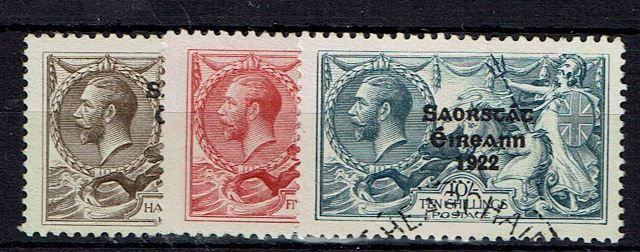 British Commonwealth Stamp Ireland SG 83-5 FU