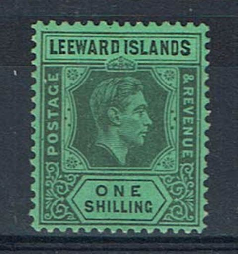 British Commonwealth Stamp Leewards SG 110a LMM27092017