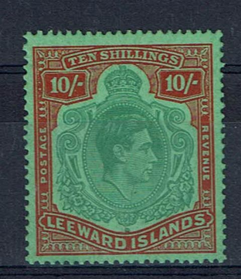 British Commonwealth Stamp Leewards SG 113ca LMM