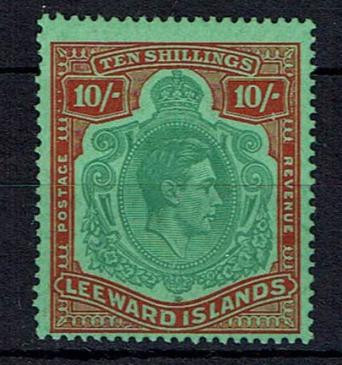 British Commonwealth Stamp Leewards SG 113ca LMM1