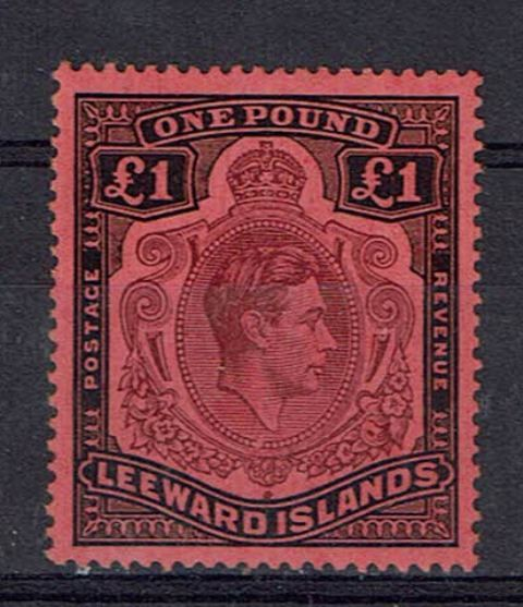 British Commonwealth Stamp Leewards SG 114ba LMM28092017