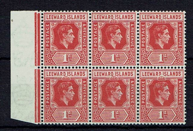 British Commonwealth Stamp Leewards%20SG%2099%2D99a%20UMM%2Ejpg