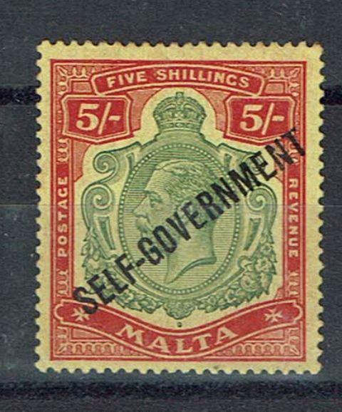 British Commonwealth Stamp Malta SG 113e LMM