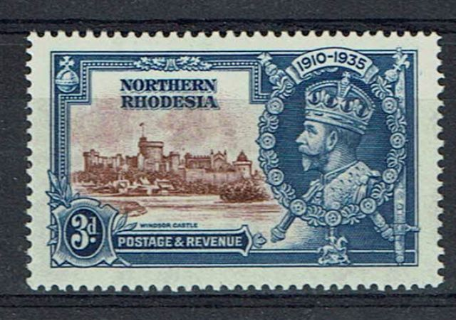 British Commonwealth Stamp N Rhodesia SG 20g LMM