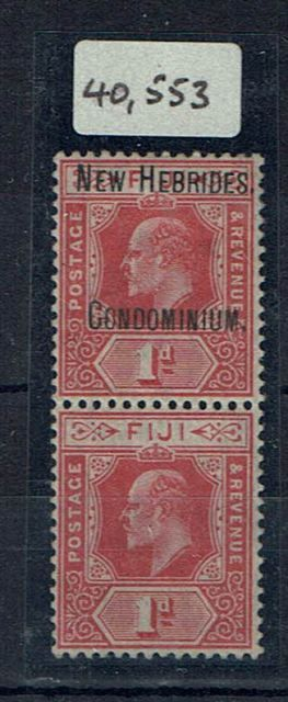 British Commonwealth Stamp New Hebrides SG 2a MM