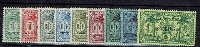 British Commonwealth Stamp New%20Hebs%20SG%2043s%2D51s%20MM%2Ejpg