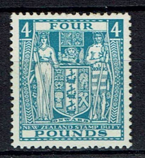 British Commonwealth Stamp New Zealand SG F 166 LMM