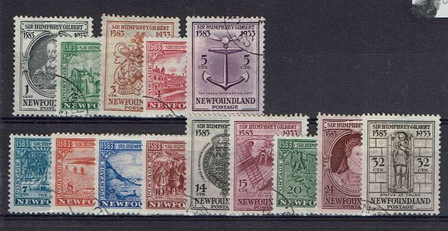 British Commonwealth Stamp Newf%20SG%20236%2D49%20FU%2Ejpg