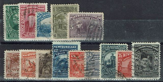 British Commonwealth Stamp Newf%20SG%2066%2D79%20GFU%2Ejpg