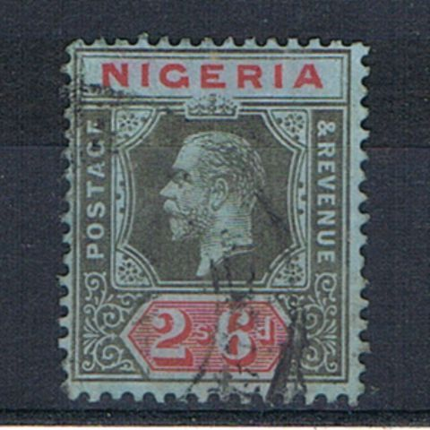 British Commonwealth Stamp Nigeria%20%20SG%2027a%20FU%2Ejpg