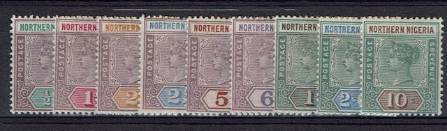 British Commonwealth Stamp Northern%20Nigeria%20SG%201%2D9%20MM29092017%5F0001%2Ejpg